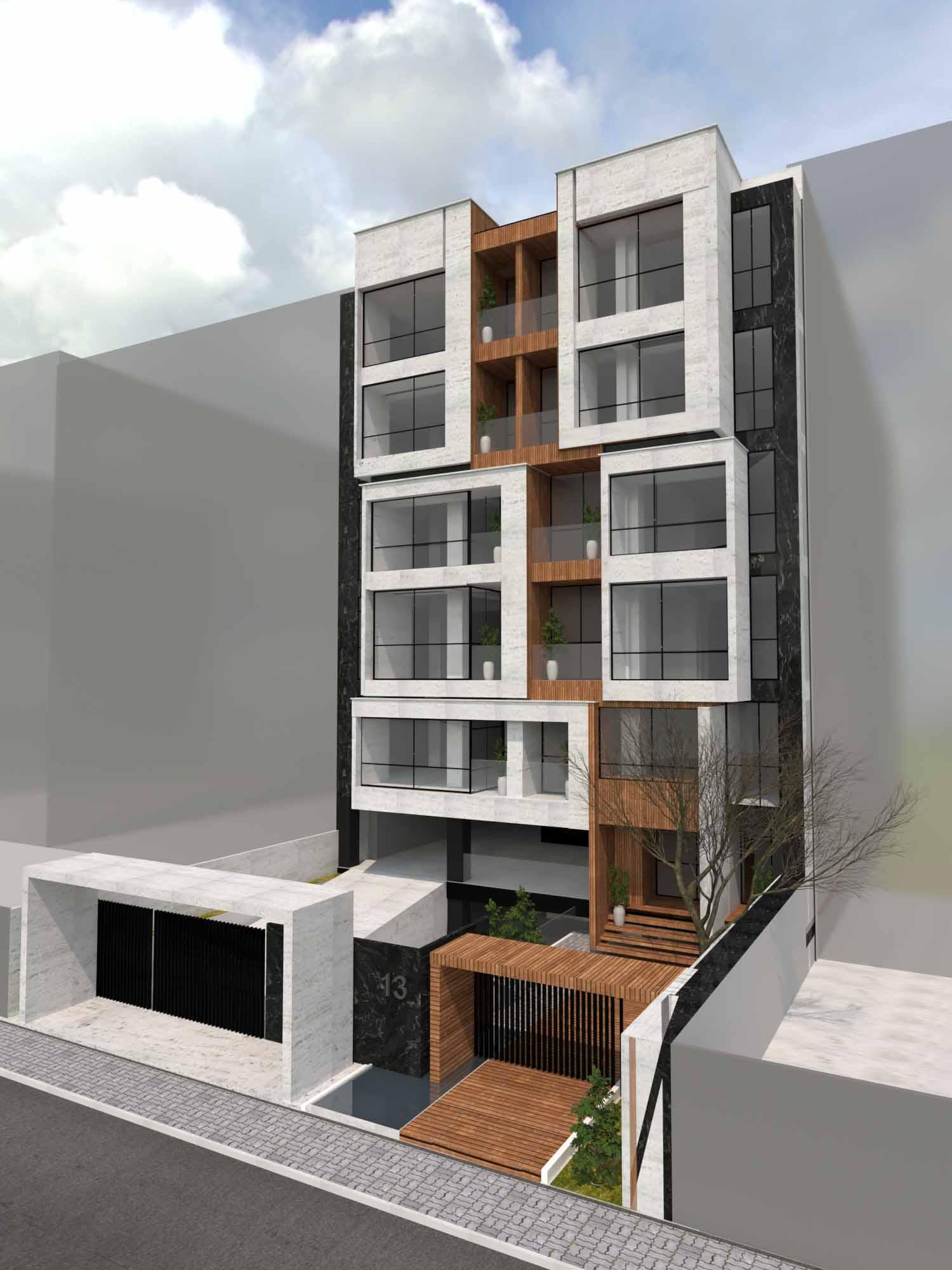 Interior Design - facade - Residential